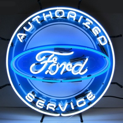 Ford Authorized Service Neon Sign