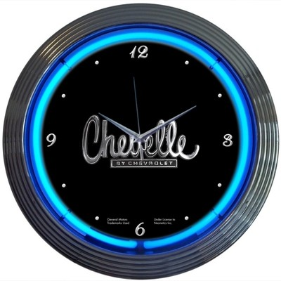 Chevrolet Chevy Chevelle Neon Clock