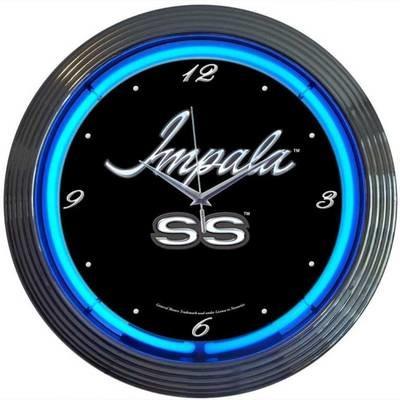 Chevrolet Chevy Impala SS Neon Clock
