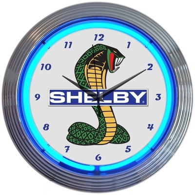 Ford Shelby Neon Clock