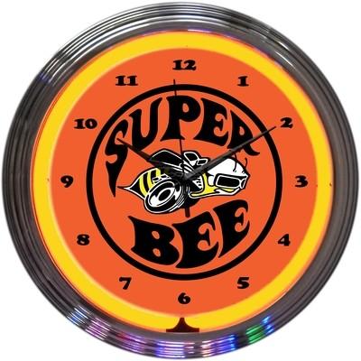 Dodge Super Bee Neon Clock
