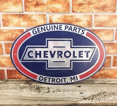 Chevrolet Chevy Genuine Parts Oval