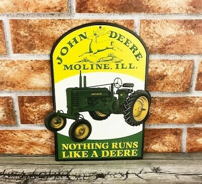 John Deere Moline Diecut