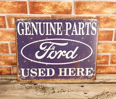 Ford Genuine Parts Used Here