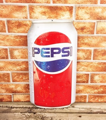 Pepsi Cola Soda Pop Can 3D