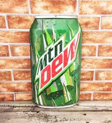 Mountain Dew Soda Pop Can