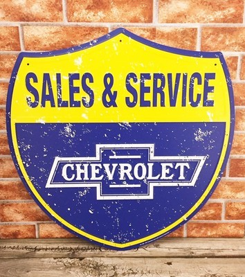 Chevrolet Chevy Sales and Service Shield