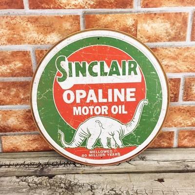 Sinclair Opaline Motor Oil Gasoline Gas