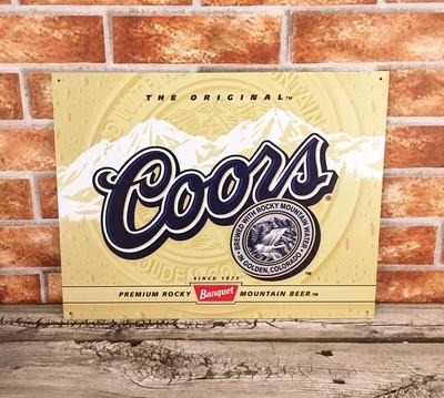 Coors Golden Beer Label