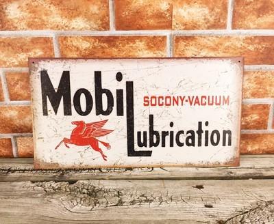Mobil Lubrication Oil Socony