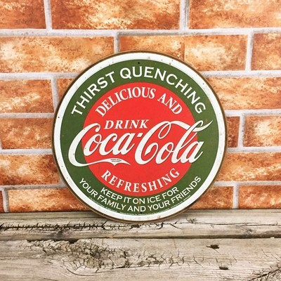 Coca-Cola Coke Round Thirst Quenching