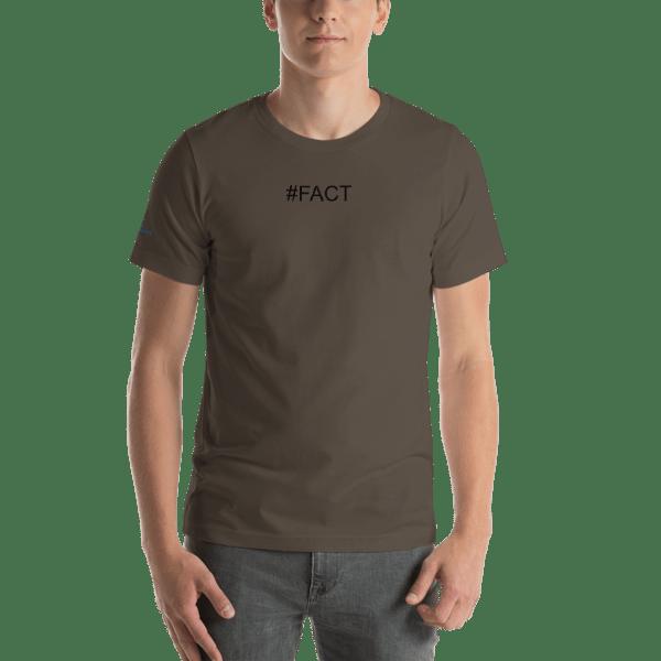 Hashtag FACT Short-Sleeve Unisex T-Shirt
