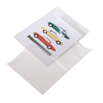 Crystal Clear Polypropylene Lip and Tape Bags 6