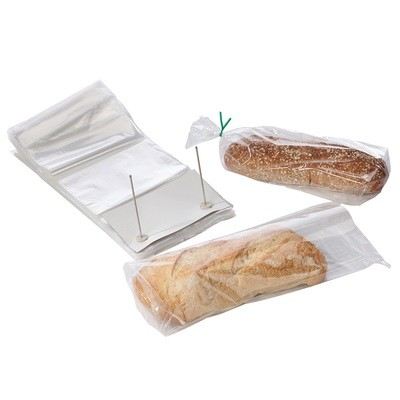 Wicketed Poly Bakery Bags with Bottom Gusset 9
