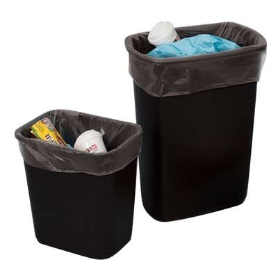 Black Poly Liners 25