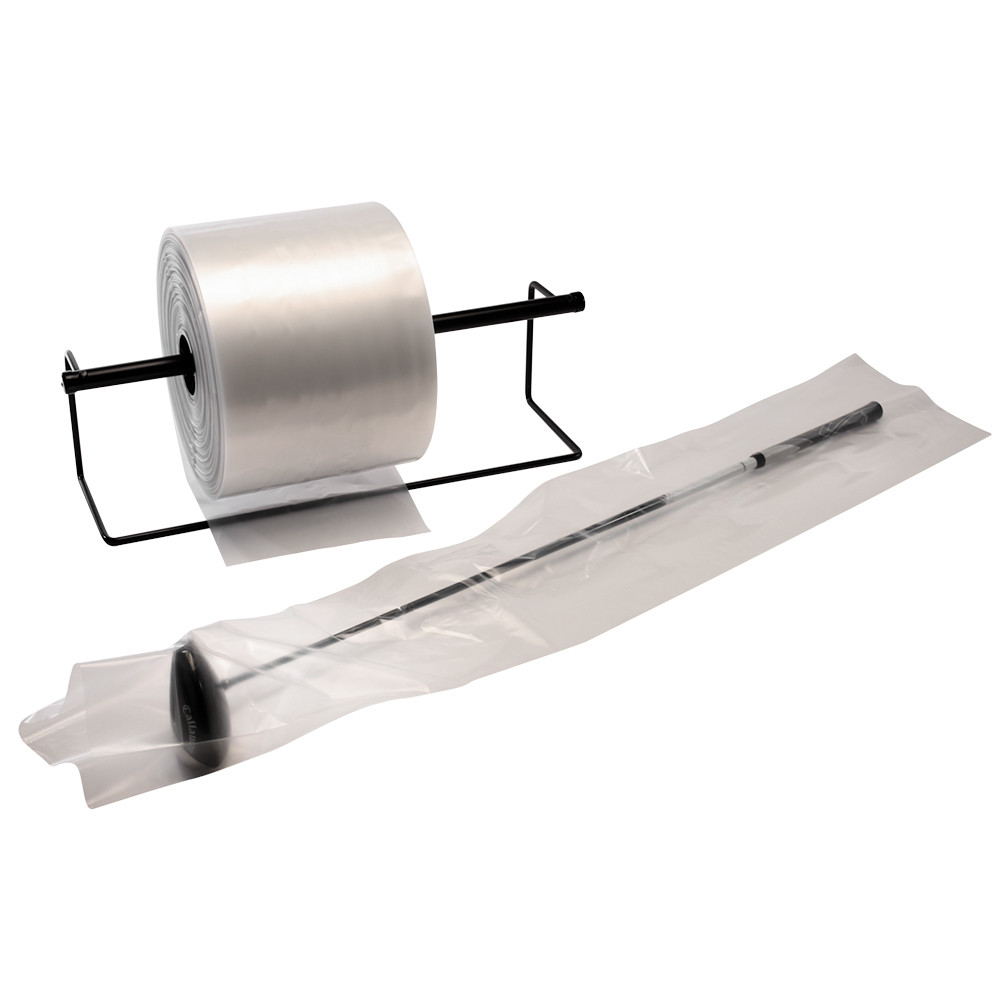 Clear Poly Tubing 3 mil 4