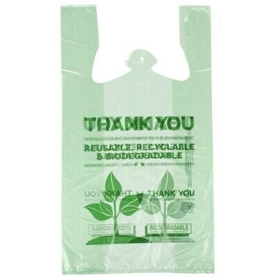 Biodegradable T Shirt Bag Qty 500