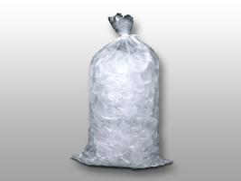 12 X 21 1.2 mils Plain Metallocene Ice Bag -- 10 lb.