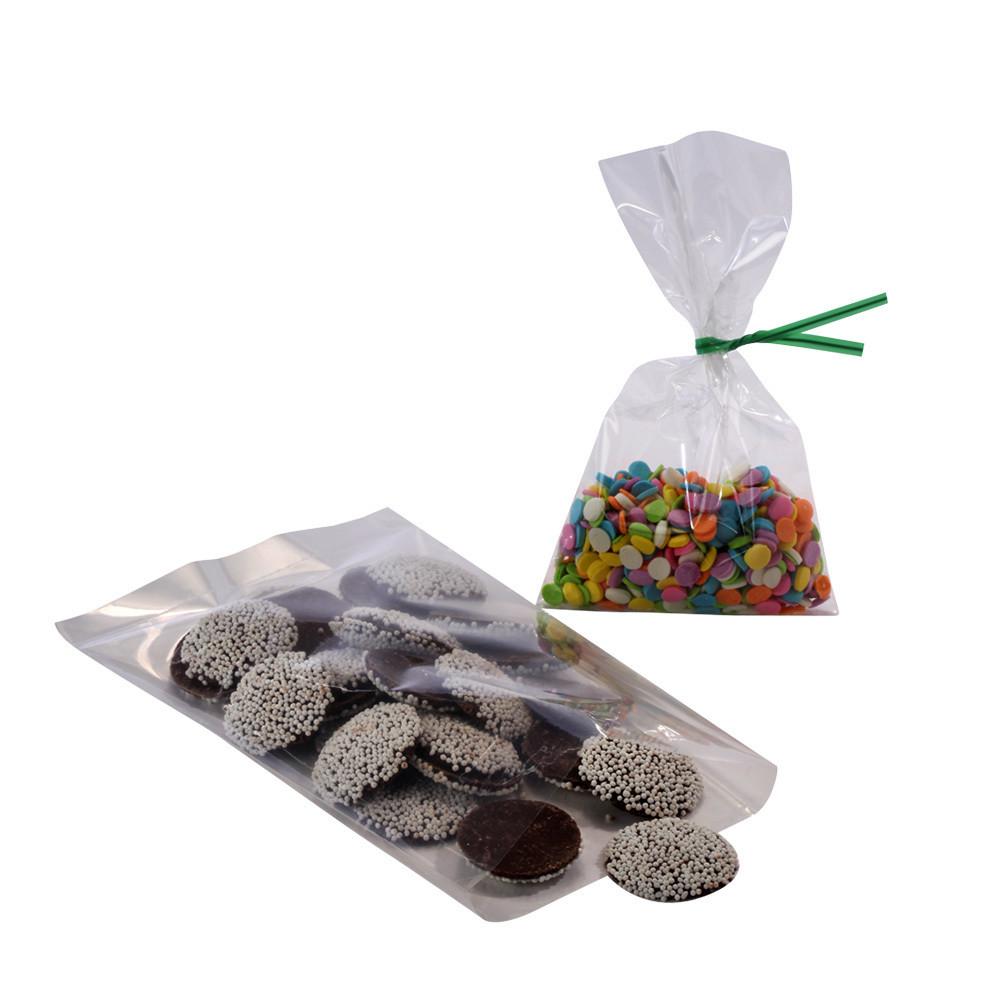 Crystal Clear Flat Polypropylene Bags 10