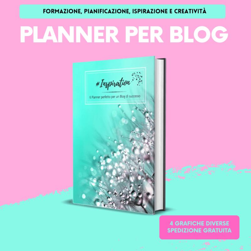Planner #Inspiration ideato chi ha un Blog