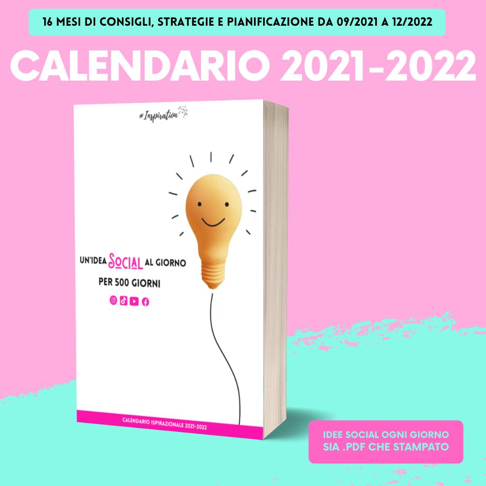 Calendario SOCIAL 2021-2022