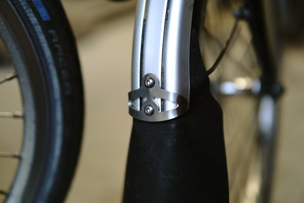 Front mudguard bumper for Brompton
