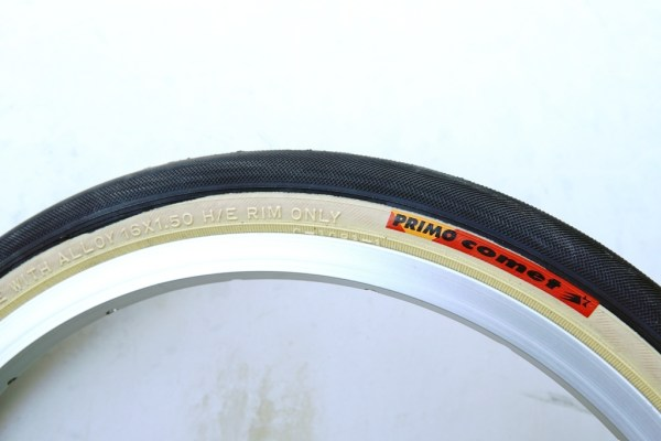 "Primo tan wall 16 x 1.35"" (ETRTO 34-305) Not for standard Brompton wheels"
