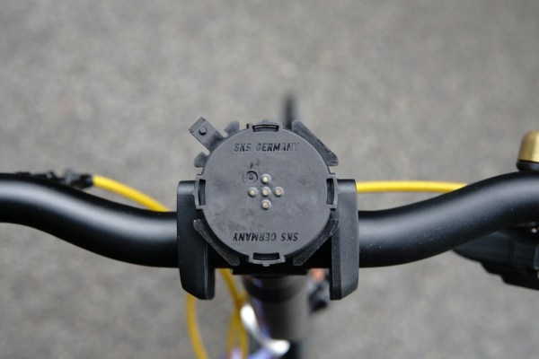SKS Compit smartphone handlebar holder compatible with your Brompton