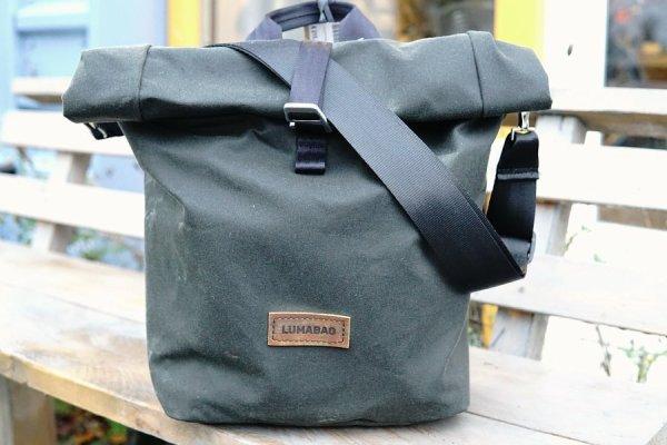 Lumabag 'Metro' shoulder bag for Brompton front carrier block 00007