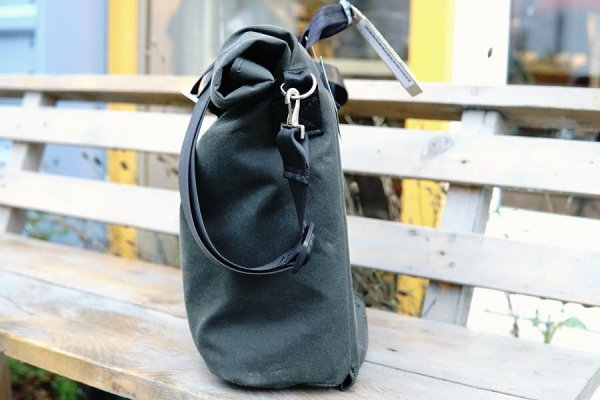 Lumabag 'Metro' shoulder bag for Brompton front carrier block