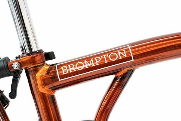 Brompton front fork gloss Flame Lacquer