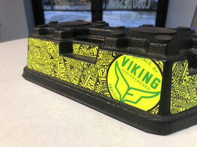 JConcepts Finnisher Car Stand Custom Wrap (Designed to Order)