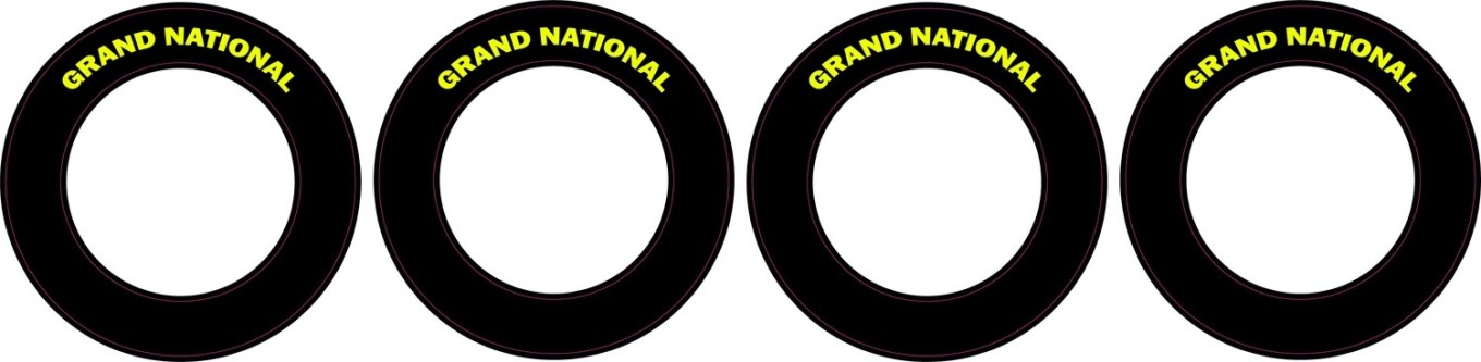 Grand National  | CRC Rubber Tire Side Wall Decals