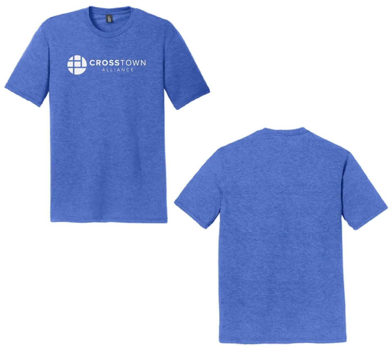 2020 Adult Tri-Blend CrossTown TShirt