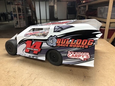 Bulldog Race Bodies SC MOD Wrap (Designed to Order)