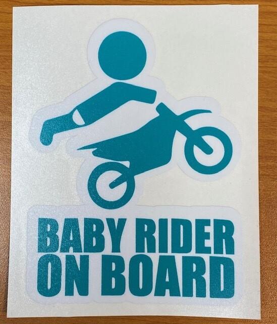 Baby Rider On Board Sticker