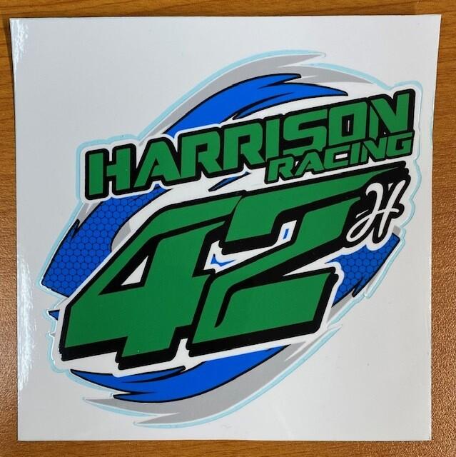 Harrison Racing Sticker