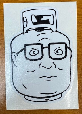 King of the Hill | Propane Hank Sticker