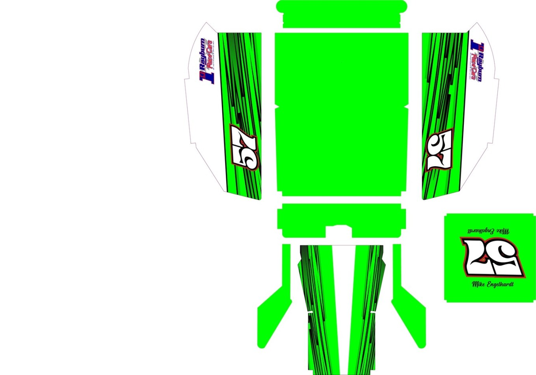 Blaed Racing SC Mod Body Custom Wrap