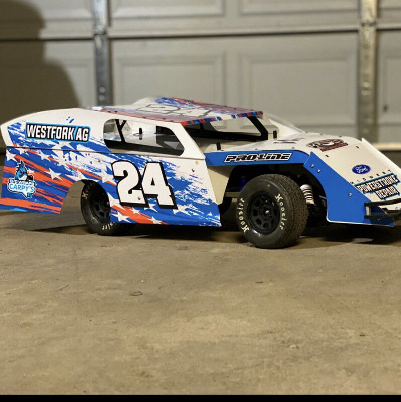 Sippel Speedshop Sx3 Mark9 Short Course Modified Body Wrap