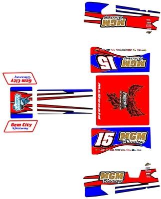 1RC Sprint Custom Wraps (Designed to Order)