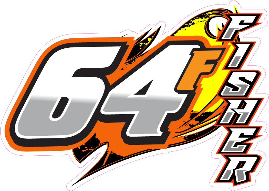 2021 Fisher Racing Sticker