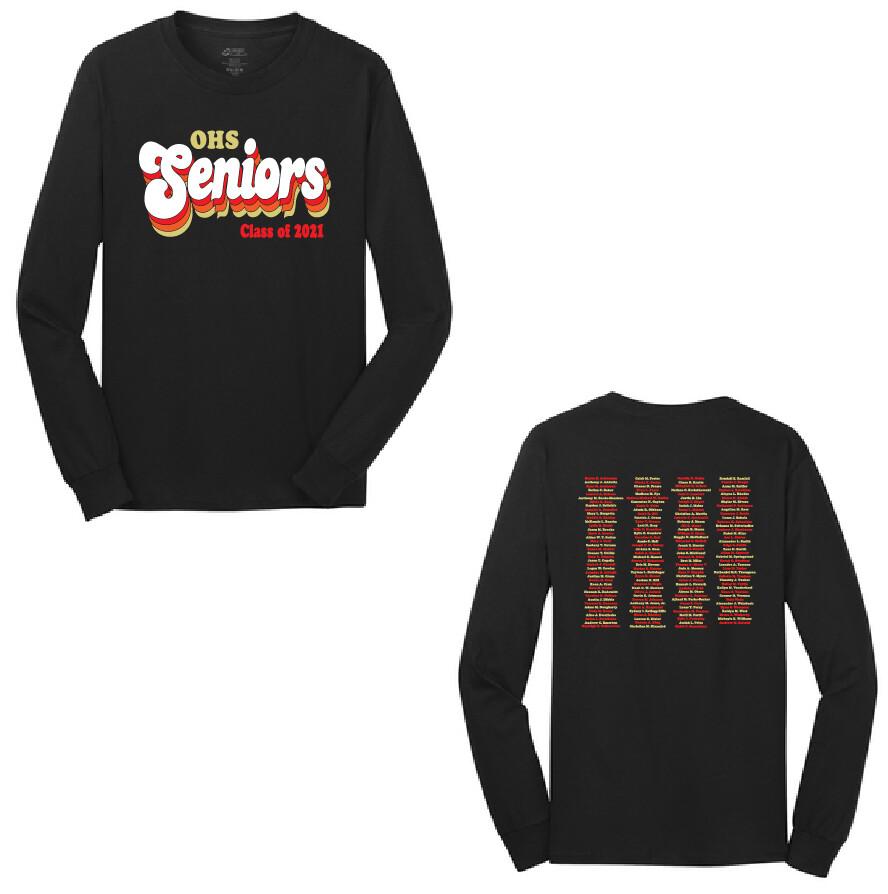 2021 Olean Seniors Long Sleeve
