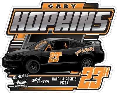 2021 Hopkins Racing Sticker