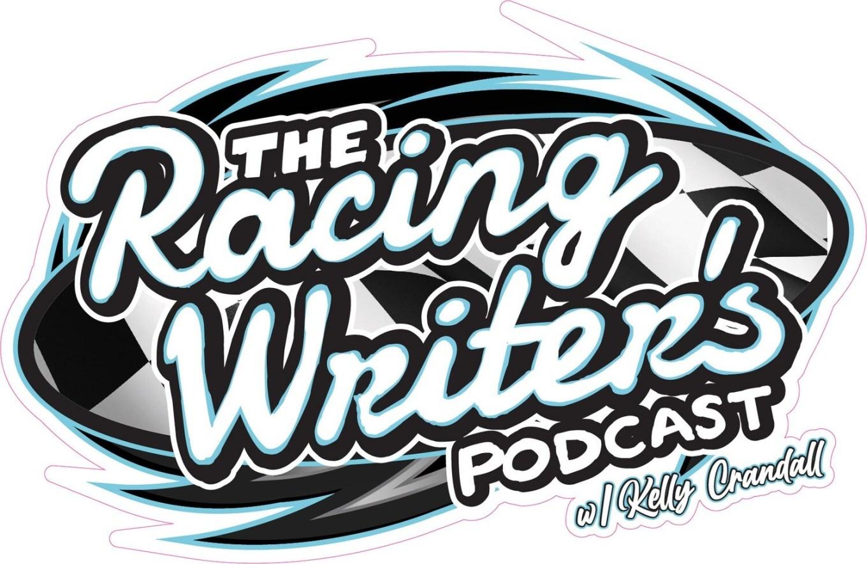 Racing Writer's Podcast Sticker