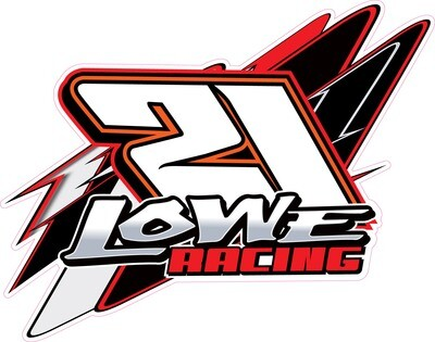 2021 Lowe Racing Sticker