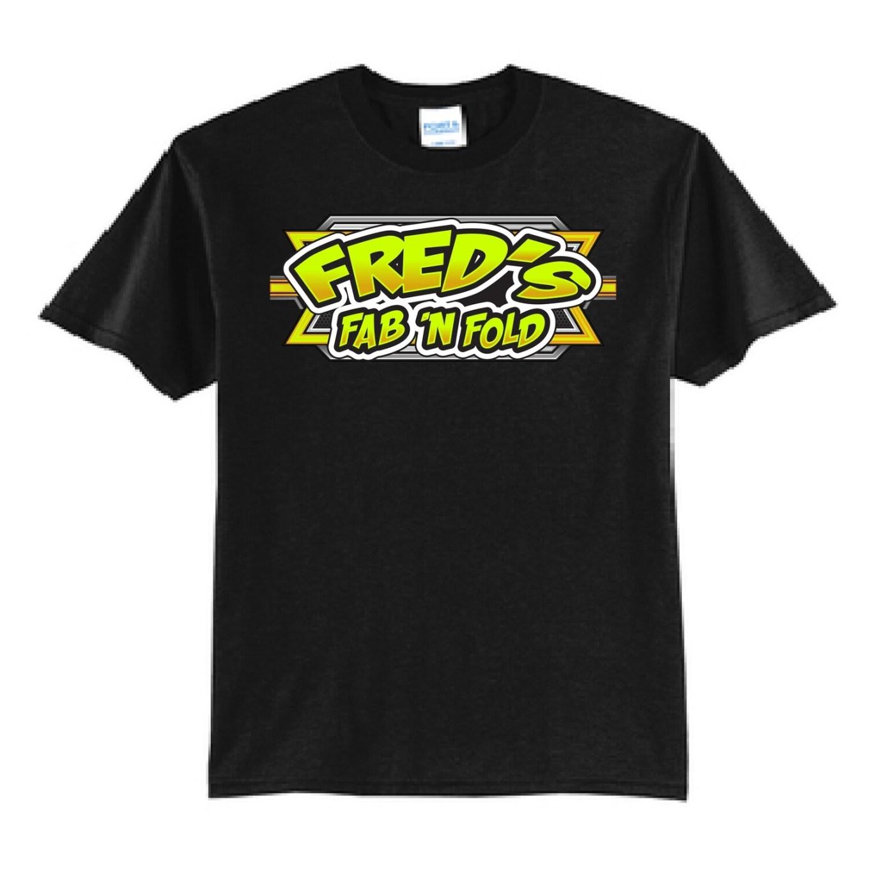 Fred's Fab 'n Fold Racing T-Shirt