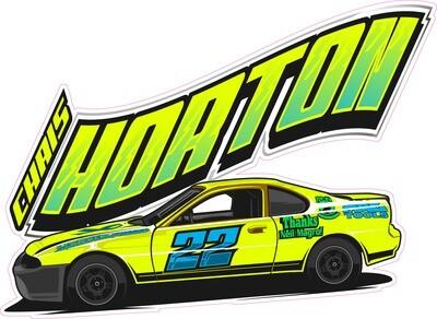 2021 Greene-Horton Championship Sticker