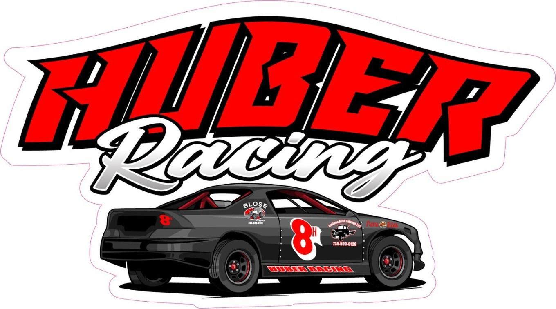 2021 Huber Racing Sticker