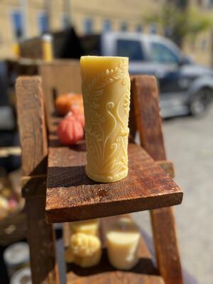 Rustic Fern Pillar